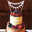 Naked Wedding Cake Fruit