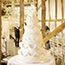 6 Tier Royal Piped Icing Wedding Cake made for a traditional wedding
