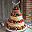 Naked Wedding Cake at Bury Court