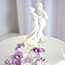 Resin Bride and Groom cake topper