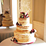 Semi Naked Wedding Cake  Penton Park,�Hampshire