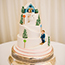 Skiing in Alpe D'Huez Wedding Cake