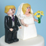 Lego Bride and Groom Cake Topper